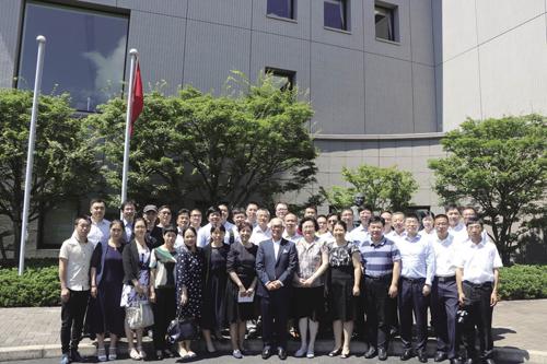 纺织高训班前往日考察交流 学习日本纺织化纤发展